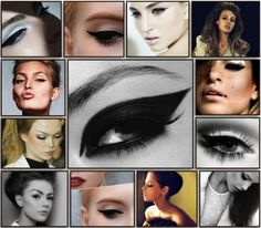 Gorgeous and glam. Winged liner!