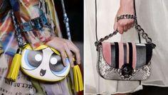 Le nuove borse da giorno: forme minime, decori maxi
