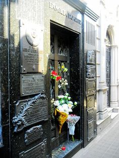 Argentina Buenos Aires in the footsteps of Evita Peron