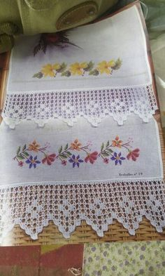 Hardanger embroidery Stitch Crochet, Filet Crochet, Crochet Doilies, Crochet Lace, Crochet Potholders, Crochet Motif, Types Of Embroidery, Learn Embroidery, Embroidery Patterns