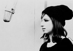 A rare photo of Barbra...one I love