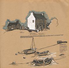 - Lolo Wagner - URBAN SKETCHERS FRANCE - Une semaine sur l'île d'Ouessant -