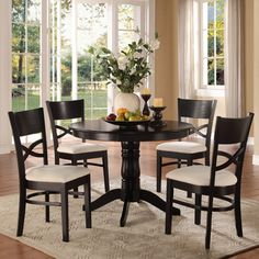 Woodbridge Home Designs Clancy 5 Piece Dining Set