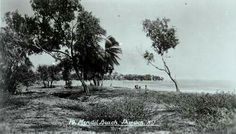 Mindil Beach Darwin post-war (pre-war was planted with coconuts), c1940s