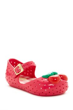 Mini Furadinha lll Cherry Mary Jane (Toddler) by MELISSA FOOTWEAR on @nordstrom_rack