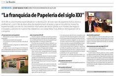 La franquicia de papelería del siglo XXI. http://alfilnews.blogspot.com.es/