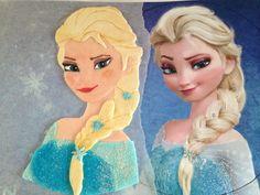 Come creare una torta Frozen di Elsa con la pasta di zucchero in pochi e semplici passaggi. La torta perfetta per una festa a tema frozen
