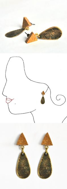Handmade earings. Unique design.   All the collection at www.caixademistos.com  Online Shop at Dawanda coming soon!