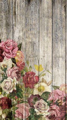 Floral Wallpaper Phone, Flower Background Wallpaper, Butterfly Wallpaper, Background Vintage, Cellphone Wallpaper, Flower Backgrounds, Wallpaper Backgrounds, Patterns Background, Poster Background Design