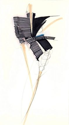 Smhj aata k fashion illustration hai . Fashion Illustration Portfolio, Illustration Mode, Fashion Portfolio, Fashion Illustrations, Silhouette Mode, Unique Drawings, Gianfranco Ferre, Ferrat, Fashion Design Sketches