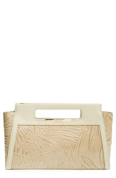 Brahmin+'Lenox'+Embossed+Leather+Clutch+available+at+#Nordstrom