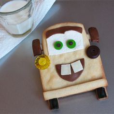 Tow Mater Cookies. So cute!