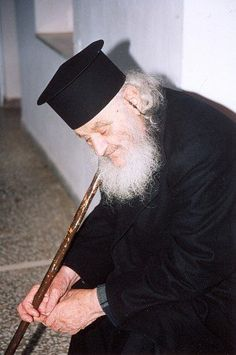 Elder Amvrosios of Mount Athos Miséricorde Divine, Orthodox Christianity, Christian Faith, Saints, Religion, Ballet Skirt, People, Photography, Fashion