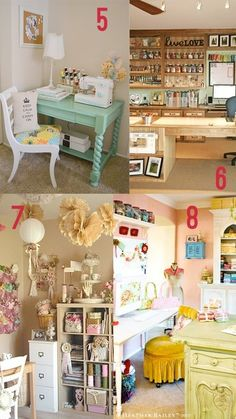 Dream Craft Rooms..... I wish I was crafty LOL