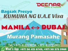 Deenar Travel and Tourism: UAE Visa for Kabayans