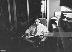 Abbado in his study at his home in Via Speronari, Milan