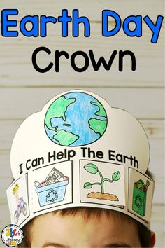 FREE Earth Day tracing sheets including pictures and words that kids can trace. Great for handwriting and fine motor skills. Perfect for preschool or kindergarten Earth Day activity. Earth Craft, Earth Day Crafts, Information About Earth, Preschool Crafts, Crafts For Kids, Recycling Activities For Kids, Earth For Kids, Earth Day Projects, Stem Projects