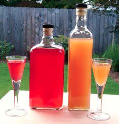 Make Your Own Fruit Wine - All you need is an abundance of the fruit of your choosing, orange juice, brewers yeast, sugar, and patience. When it comes to flavors, the sky's the limit. - Chelsea Green http://goo.gl/8VidwF