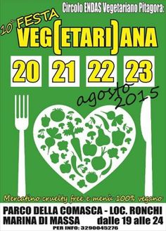 Festa Vegetariana Marina di Massa 2015