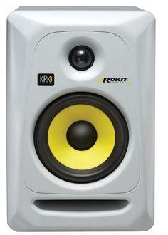 KRK's Rokit 5 G3 White (Generation 3) powered studio monitors
