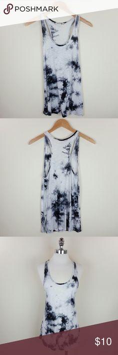 Tie dye racer back tank Tie dye racer back tank  Content 100% rayon  Length 28 in Tops Blouses