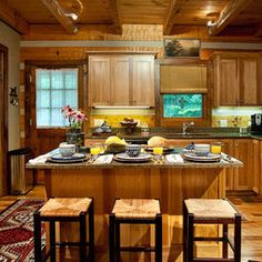 Kitchen Photos Tiny Cabin Kitchen Design, Pictures, Remodel, Decor and Ideas - page 4
