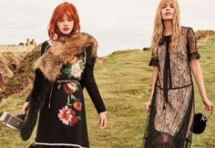 Italian fashion brand Twinset heads to Scotland's Dunnottar Castle for its fall-winter 2017 campaign. Starring models Stella Lucia and Stella Maxwell… Fashion Brand, Fashion News, Boho Fashion, Fashion Models, Autumn Fashion, Stella Lucia, Twin Models, Fashion Vocabulary, Stella Maxwell