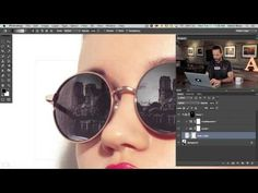 How to Add a Reflection to Sunglasses in Photoshop - YouTube