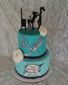 Hairdresser Cake Kit by CakeFreak on Etsy