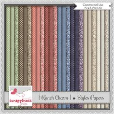 Ranch Charm ♥ Styles Papers
