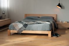 Java | Low Chunky Bed | Natural Bed Company