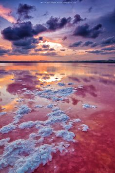 Photo Sunset on the salt by Fran Ros on 500px
