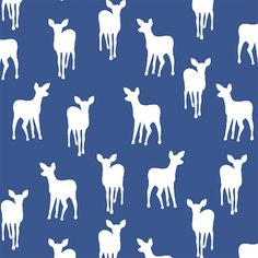 Hawthorne Threads - Fawn Silhouette - Fawn Silhouette in Blue Jay