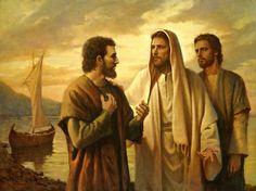 Lovest Thou Me by Del Parson ~ Jesus