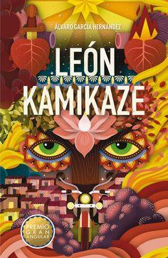 """""""León kamikaze"""" Premio Gran Angular 2016.  la segunda, todos me odiaron. En la tercera, aún no sé quién soy. Me llamo León, León Kamikaze, y este es el rastro que me ha traído hasta AQUÍ."""