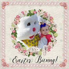 """""""Easter Bunny"""" Layout by Andrea Hutton"""