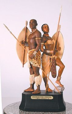 Ebony Visions The Protectors Of Freedom #EbonyVisions #Art. Exclusive Military Issue. The man's spear comes detached. Thomas Blackshear created The Protectors of Freedom in honor of the courageous men and women who have served and are serving in the United States Military and their families.