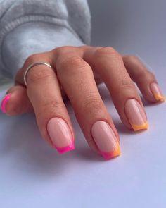 Simple Acrylic Nails, Best Acrylic Nails, Acrylic Nail Designs, Simple Nails, Glamour Nails, Maila, Fire Nails, Neutral Nails, Acylic Nails
