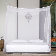 diy mosquito net for bed to prevent - Buscar con Google