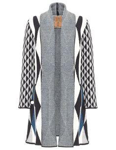 Diamond Print Valdosa Coat | Garzon | Avenue32