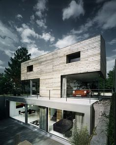 Coast Office Architecture have designed the TBONE House in Stuttgart, Germany.