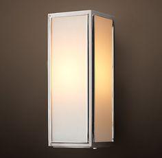 Exterior Back Door Sconce Option:  Restoration Hardware - Union Filament Narrow Sconce with Milk Glass