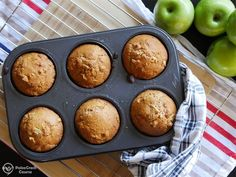 These paleo apple muffins are perfect for anyone looking for a healthy muffin they can quickly prepare and get baking in the oven.