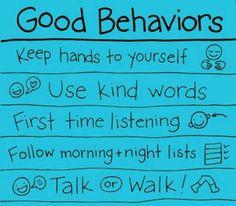 Great behavior chart..