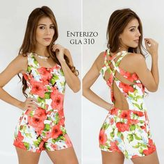 Would make a good swimsuit Short Outfits, Short Dresses, Summer Outfits, Cute Outfits, Casual Dresses, Diy Fashion, Ideias Fashion, Jumpsuit Pattern, Chor