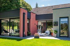 Bretagne and extensions on pinterest for Combien coute une extension de maison