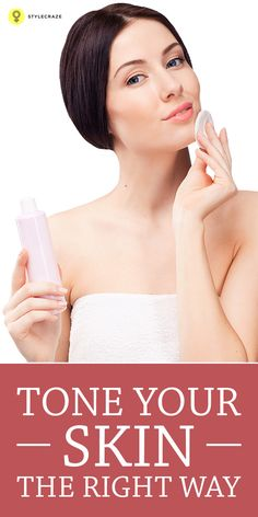 Toners refine and shrink the size of our pores if used regularly. Here is a simple guide on how to apply toner the right way.