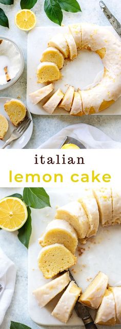 Sorrento Double Lemon Cake