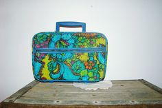 darling mini suitcase tote  travel carry on by MontanaSnowVintage, $14.99