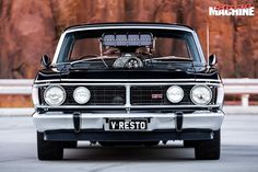 A stunningly built Ford Falcon XY GT replica with a blown and injected twist! Australian Muscle Cars, Aussie Muscle Cars, Car Ford, Ford Gt, Old Trucks, Chevy Trucks, Aussie Australia, Cardi B Photos, Big Girl Toys